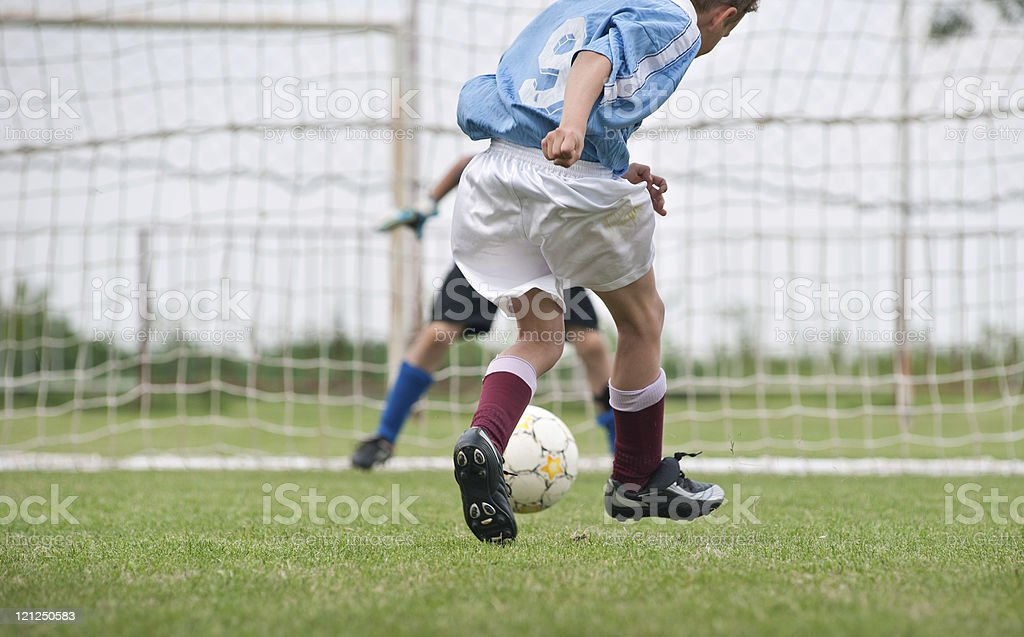 penalty stock photo