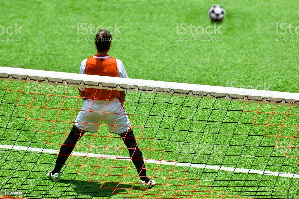 Penalty royalty-free stock photo