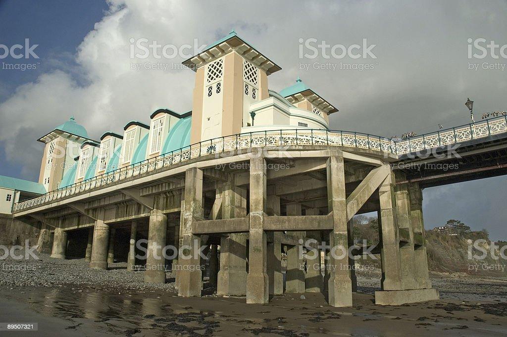 Penarth Pier royalty-free stock photo