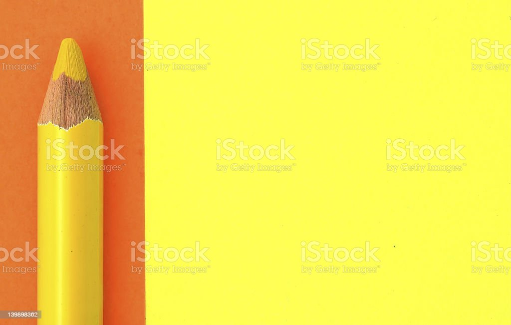 Pencil Background royalty-free stock photo