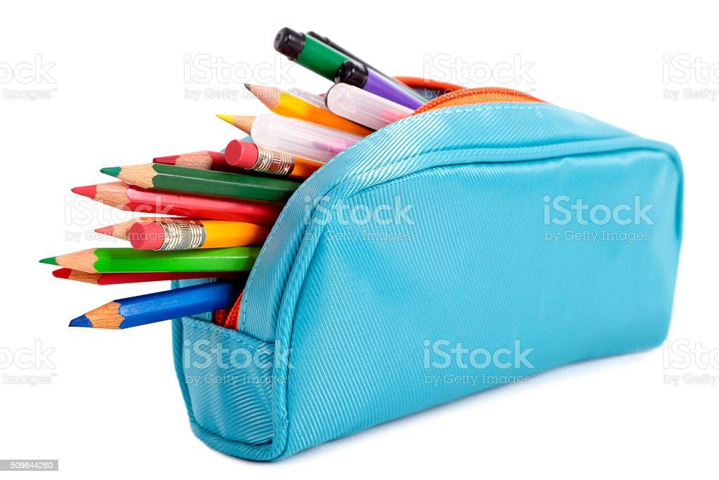 Astuccio per matite - foto stock