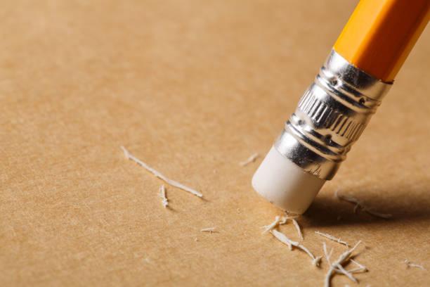 Pencil eraser removing a written mistake on a piece of paper picture id688973698?b=1&k=6&m=688973698&s=612x612&w=0&h=ndcw t5xhmfp q60cqlhhcbsyxnz9xs5rbtrmvgzyuk=