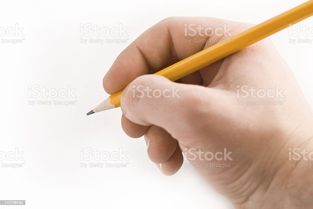 Pencil royalty-free stock photo