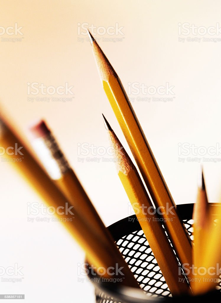 Pencil stock photo