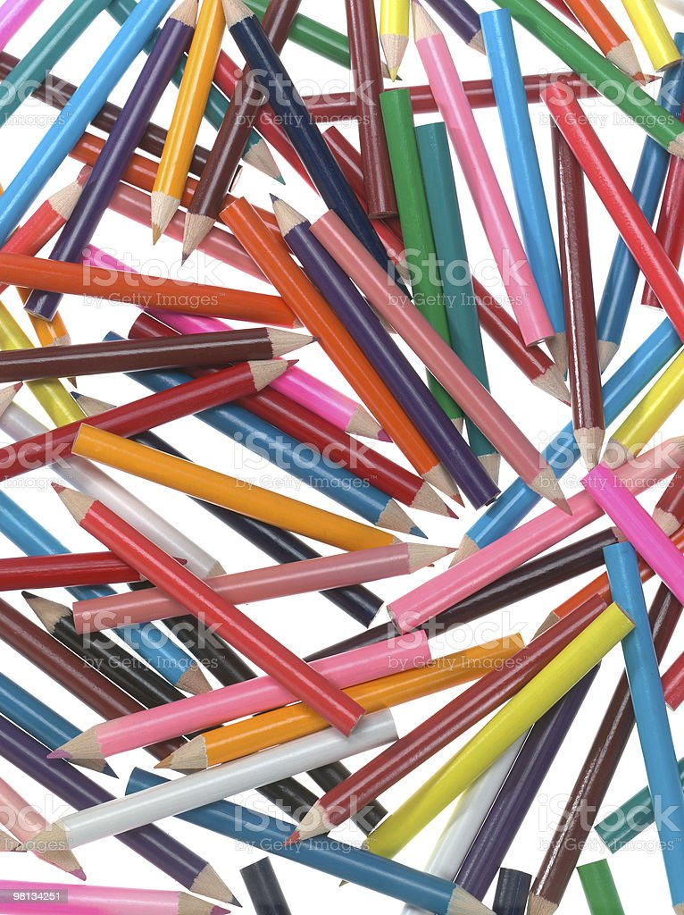 crayon royalty-free stock photo
