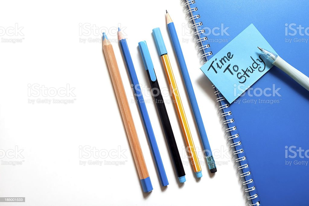 pencil set royalty-free stock photo