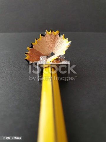 Color background image. Concept of focus distance, result of a work, benefit after an effort.
