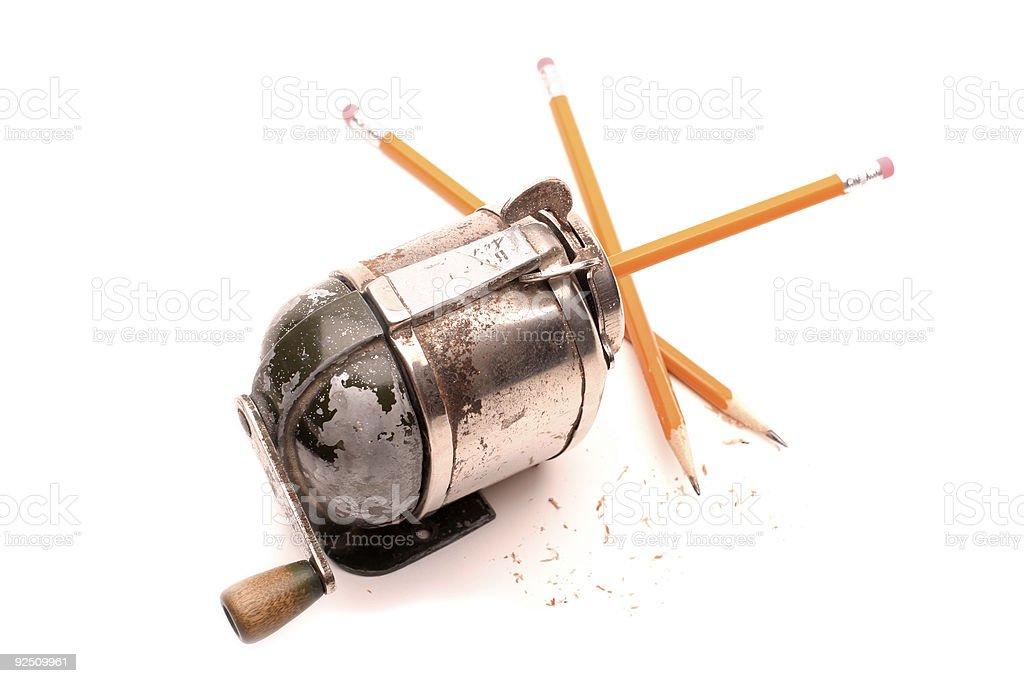 Pencil Sharpener royalty-free stock photo