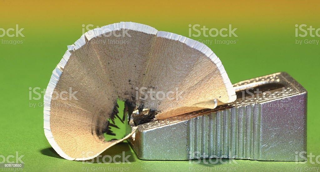 pencil sharpener stock photo