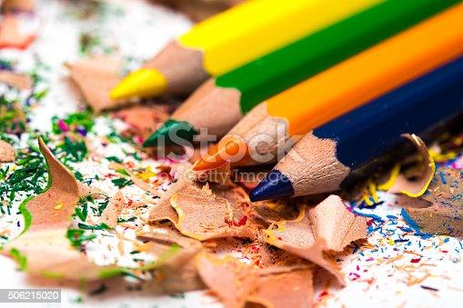 951081060 istock photo pencil shavings 506215020