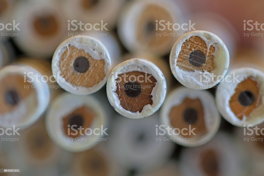 Pencil stack - Royalty-free Abstract Stock Photo