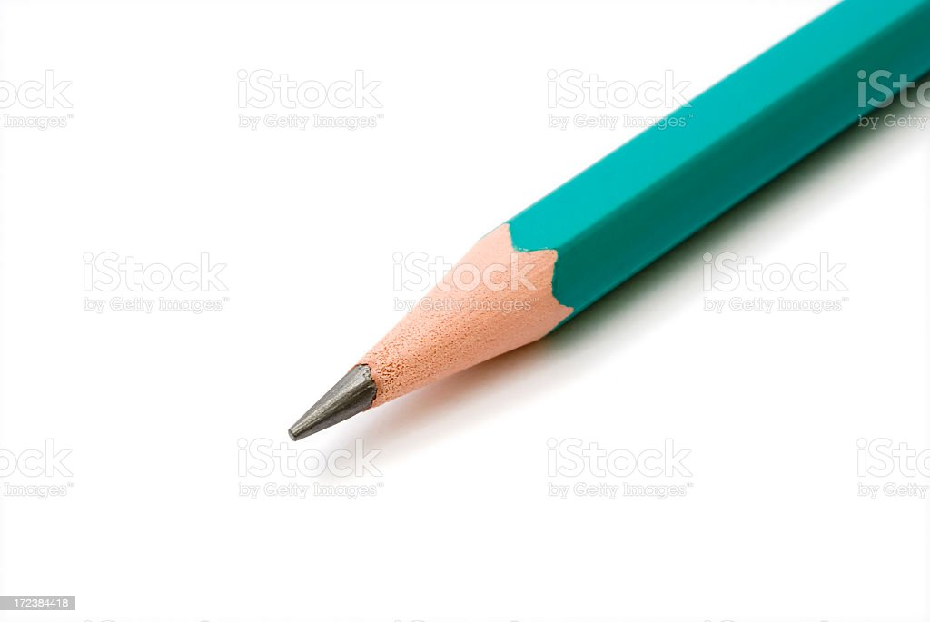 Pencil tip royalty-free stock photo