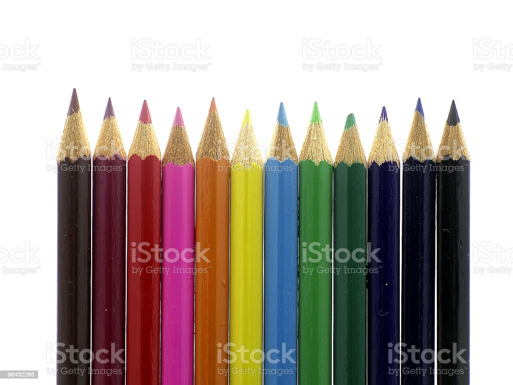 pencils 02 royalty-free stock photo