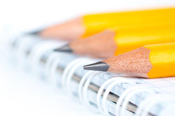 3 Stifte für Zeichnung, interior Designer Ausrüstung – Foto