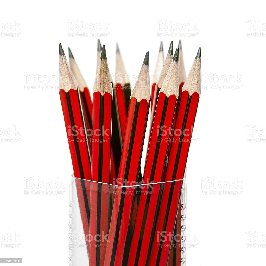 Pencils for drawing royalty-free stock photo