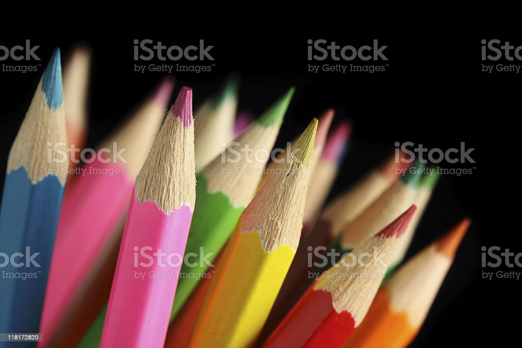 Pencils. royalty-free stock photo
