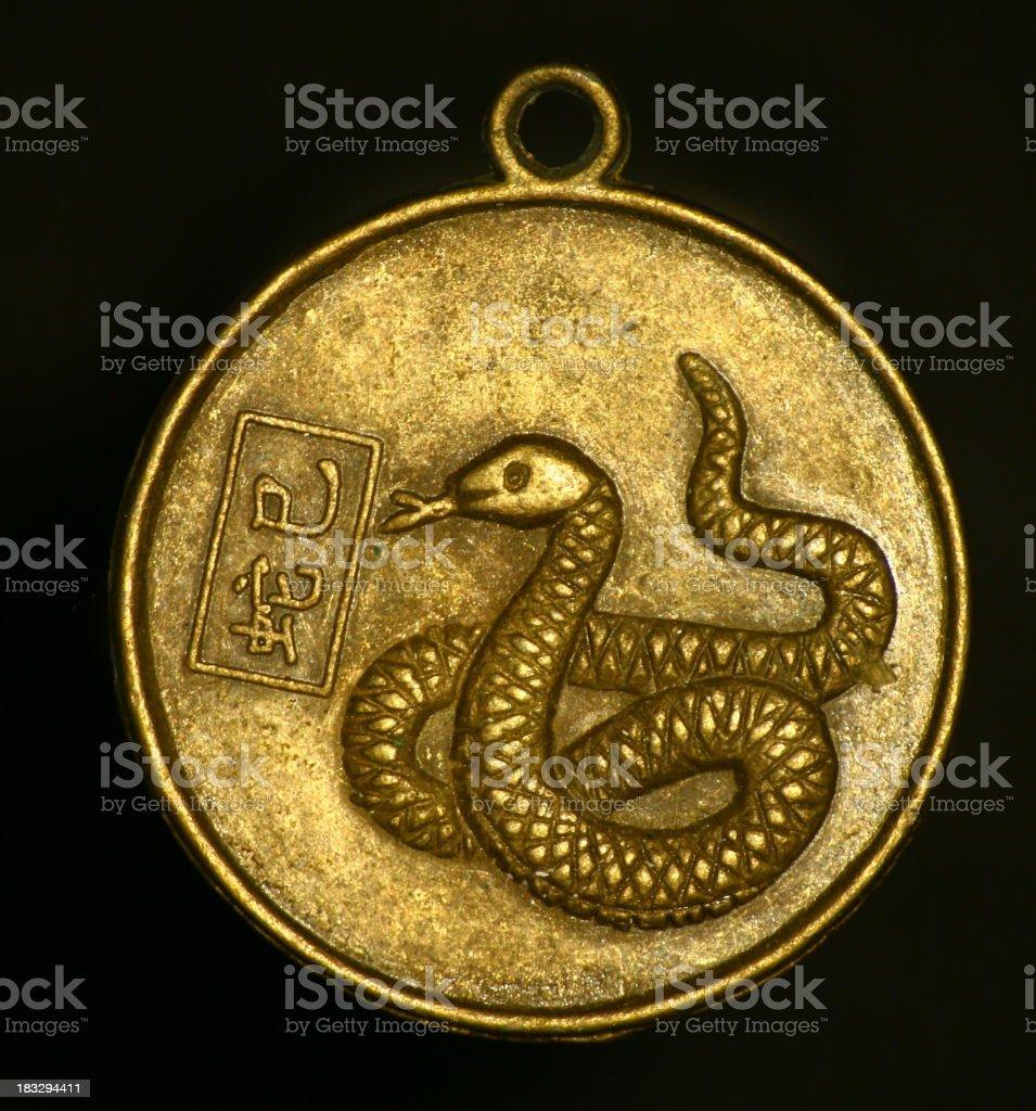 pendant - snake royalty-free stock photo