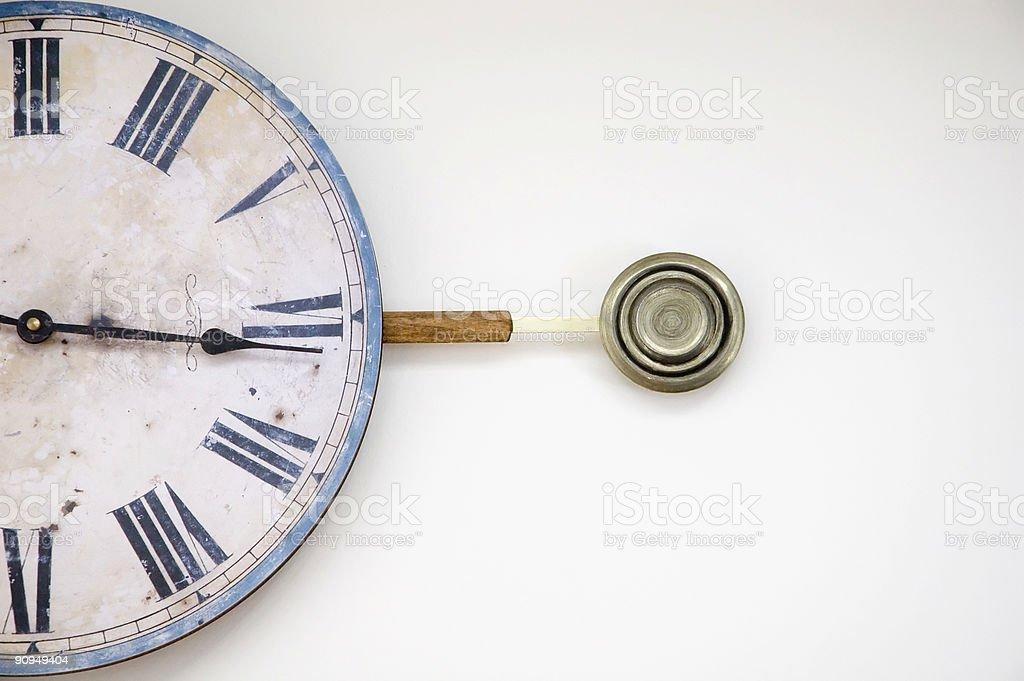 pendulum clock royalty-free stock photo