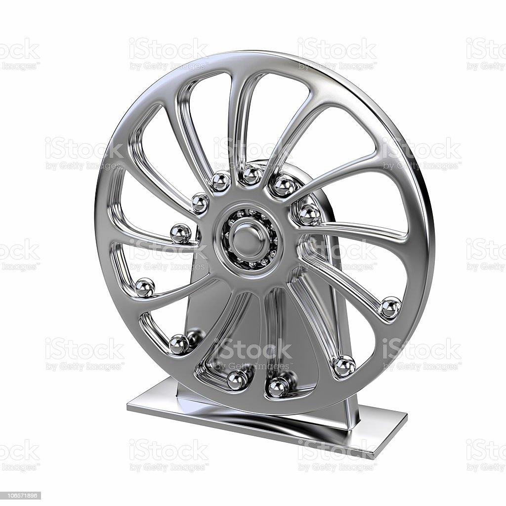 pendulum, perpetuum mobile, wheel stock photo
