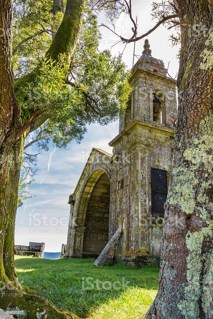 Peneda chapelle royalty-free stock photo