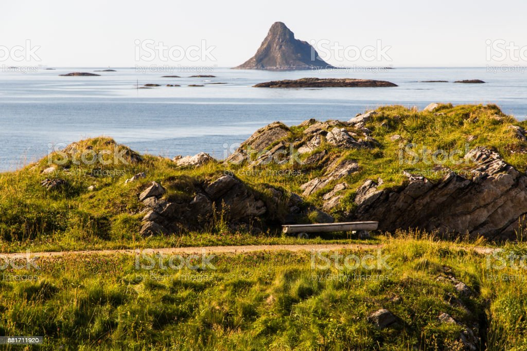 Pinguin-Inseln auf den Lofoten, Norwegen – Foto