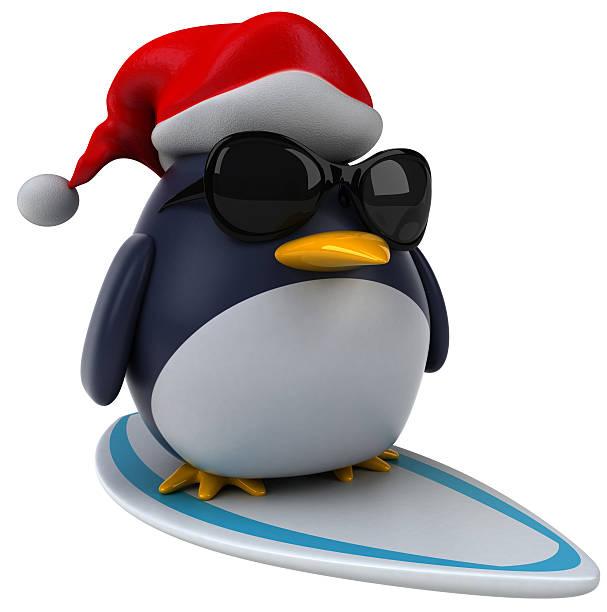 Best Surfing Penguin Animal Cartoon Stock Photos, Pictures ...