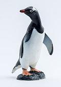 Image of Penguin Toy isolated on white background.