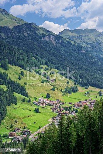 istock Penia, Val di Fassa, in the Val di Fassa department 1287365430