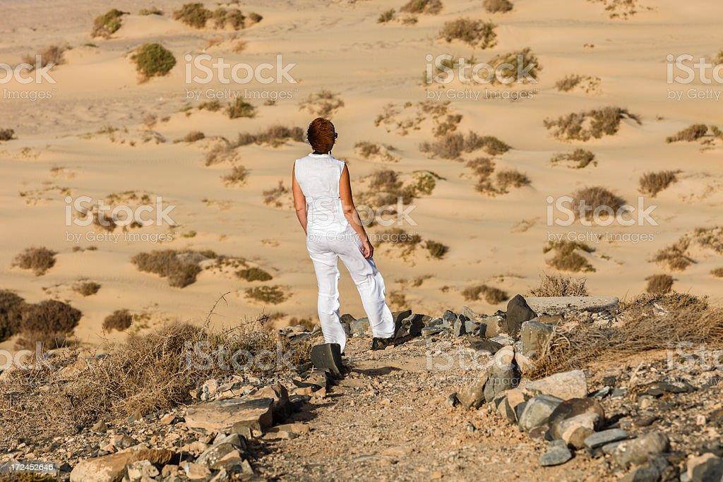 Peninsula de Jandia, Fuerteventura royalty-free stock photo