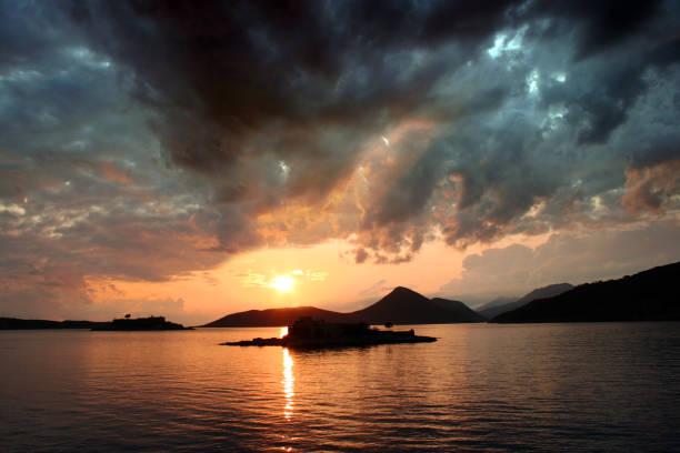 Halbinsel Lustica in Montenegro – Foto