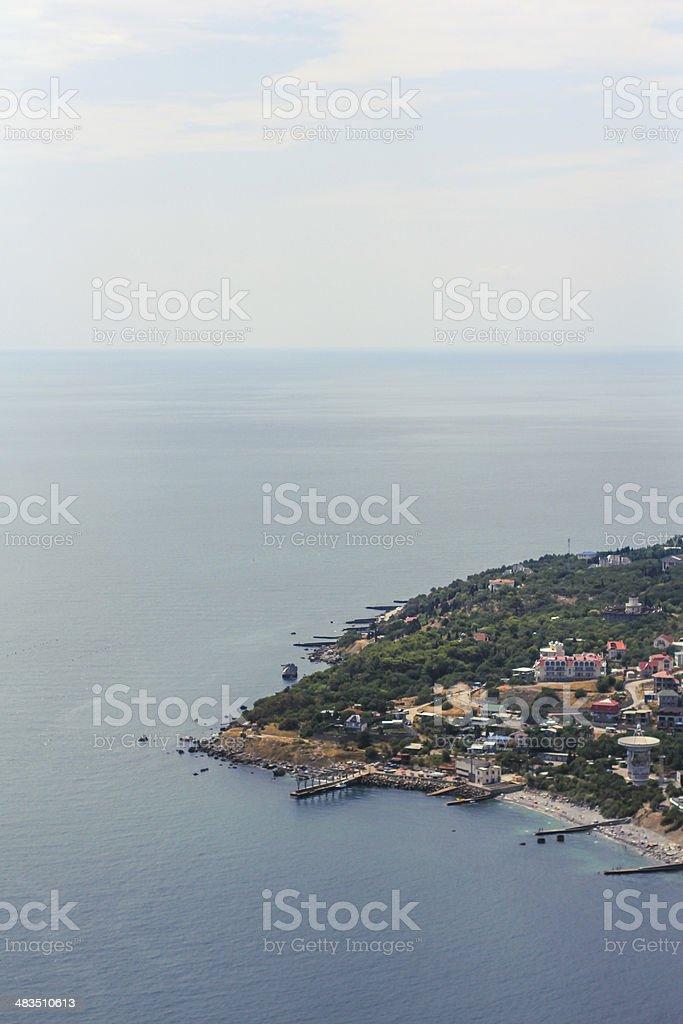 Peninsula stock photo