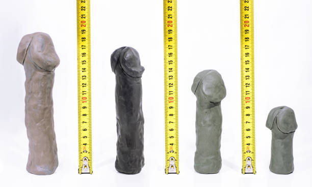 Penis sizes abstract photo. stock photo