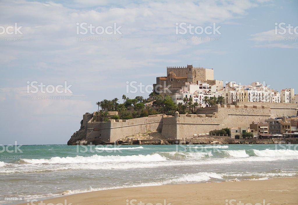 Peniscola Spain stock photo