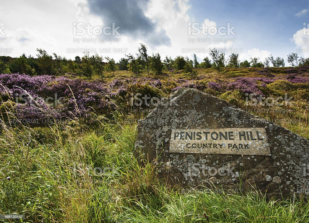 Penistone crags royalty-free stock photo