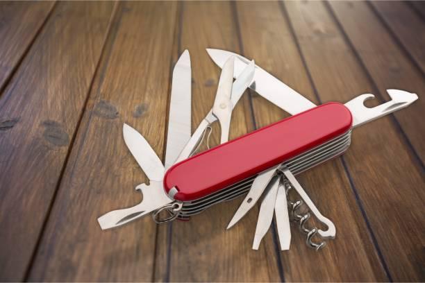 Penknife. stock photo