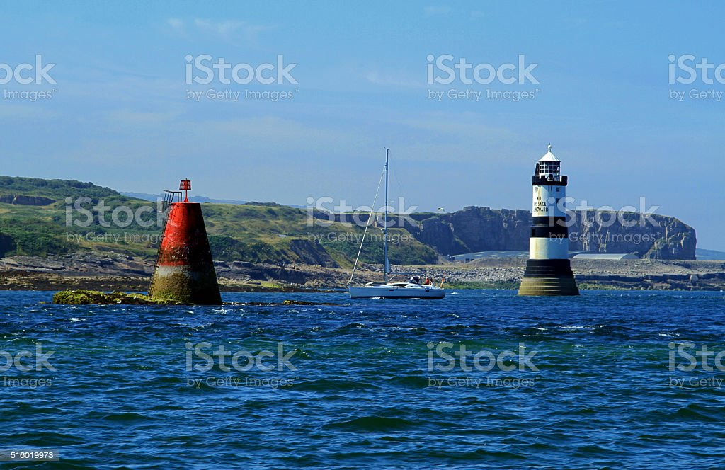 Penmon Point royalty-free stock photo