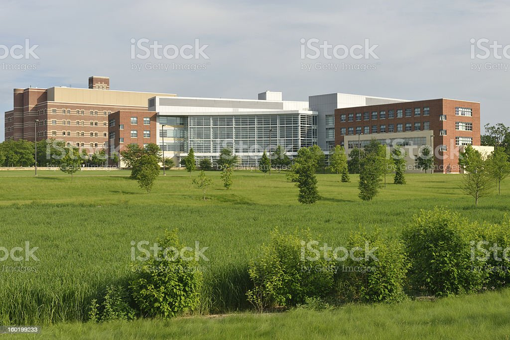 Penn State Campus stock photo