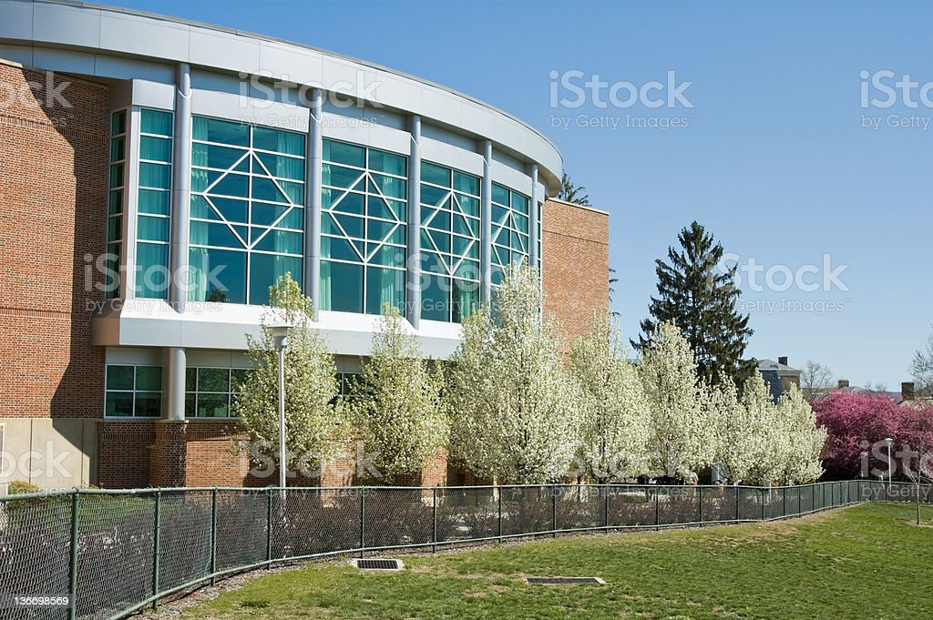 Penn State University Campus College Building stock photo