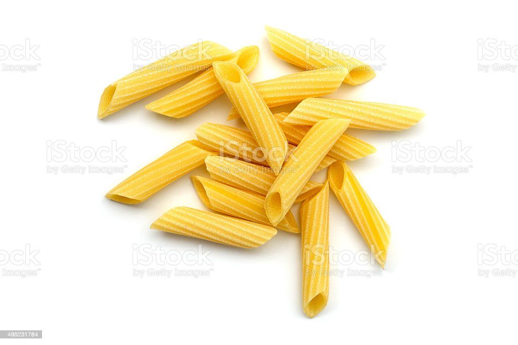 Pasta penne stock photo