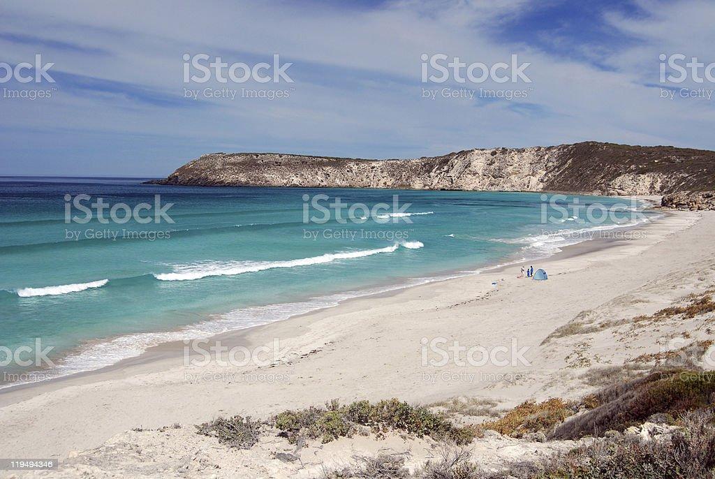 Pennington Bay, Kangaroo Island stock photo