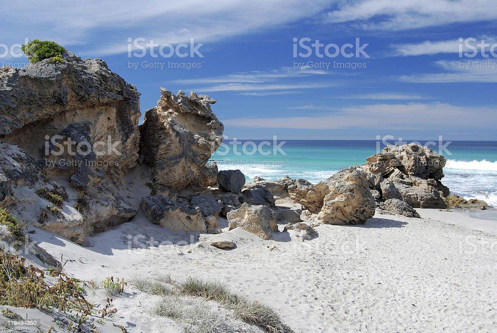 Pennington Bay on Kangaroo Island stock photo