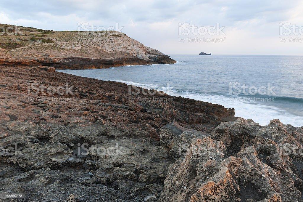 'Península de Llevant' Natural Park in Majorca royalty-free stock photo