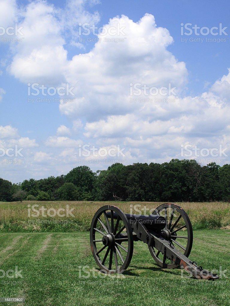 Pennsylvania Battlefield - Chancellorsville royalty-free stock photo