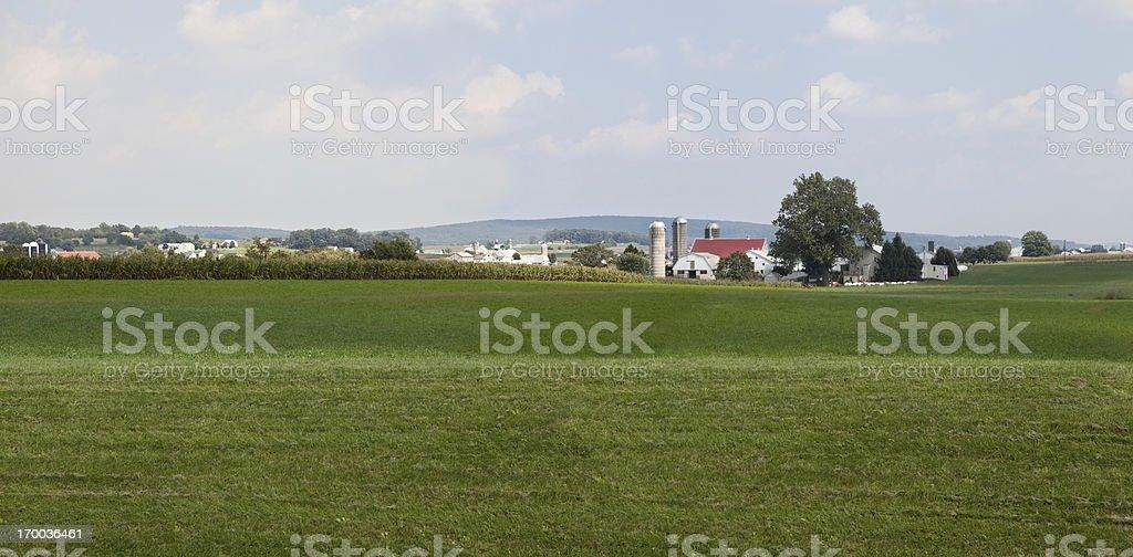 Pennsylvania Dutch Country Farm stock photo