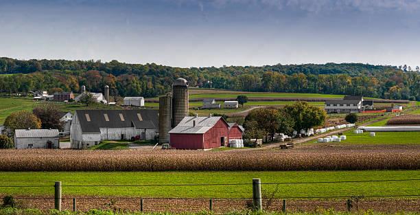 Pennsylvania Farmland stock photo