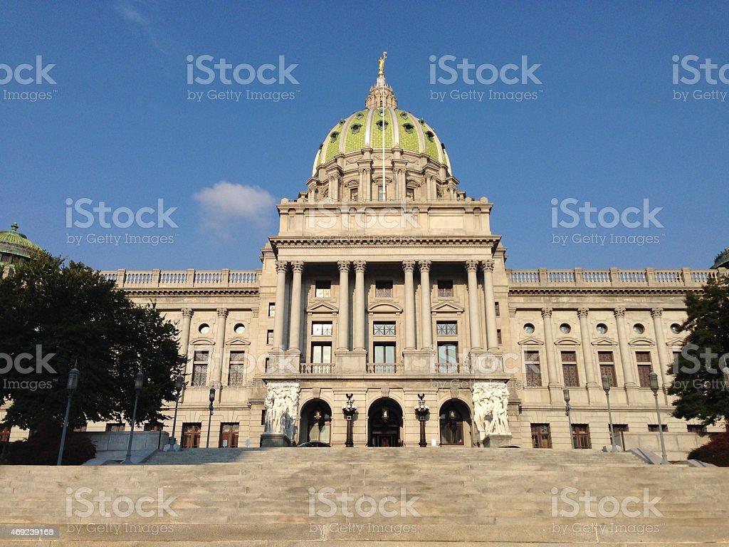 Pennsylvania State Capitol stock photo