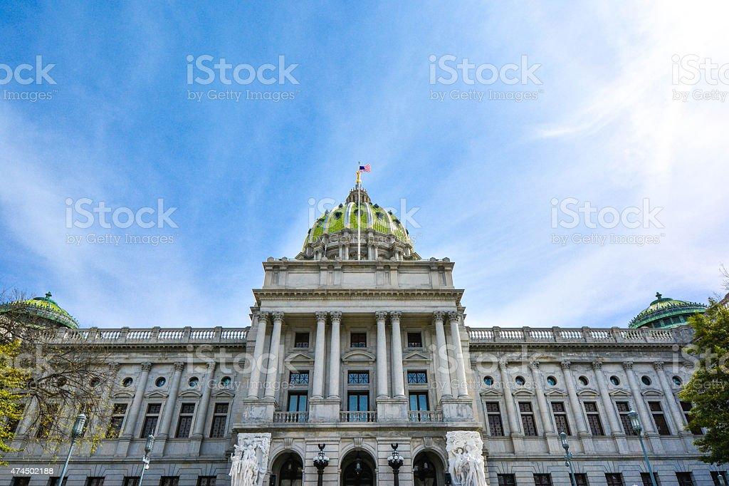 Pennsylvania State Captiol Building stock photo