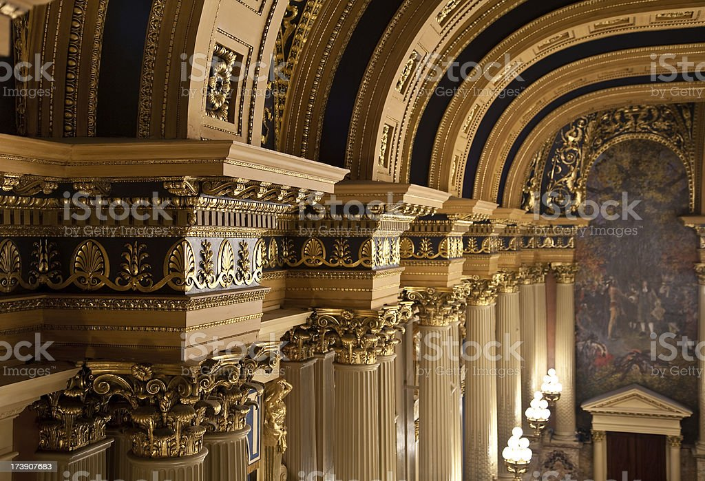 Pennsylvania State House of Representatives Chamber stock photo
