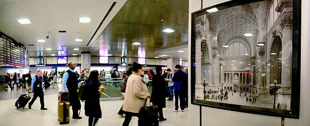 Pennsylvania Station Amtrak Concourse Compressed Present vs the Grand Past
