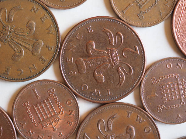 how big is a 2 pence coin